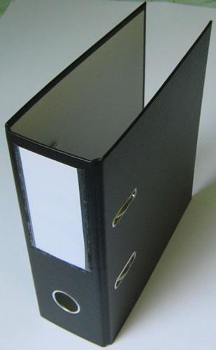 CD-Hebelordner - 3-in 1 - schwarz (Archivordner)