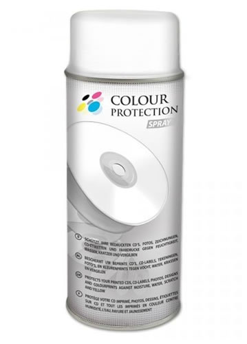 CD-Farbschutzspray 400ml ( Fixierspray / Protection Spray ) (CD-Rohlinge 8 cm Mini)