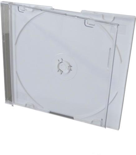 CD-Slimcase - weiss - 50 Stück (CD-Huellen farbig)