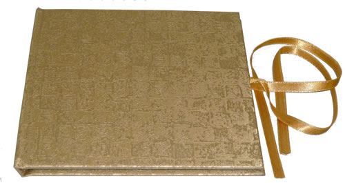 CD Art Box - gold (CD-Huellen farbig)