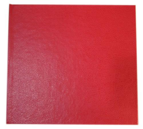 CD Art Box - rot - Lederstruktur (CD-Huellen farbig)