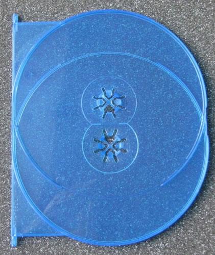 Einlage für AMARAY Blu-Ray-Hüllen - Einlage für 2 Disk (Blu-Ray-Boxen)