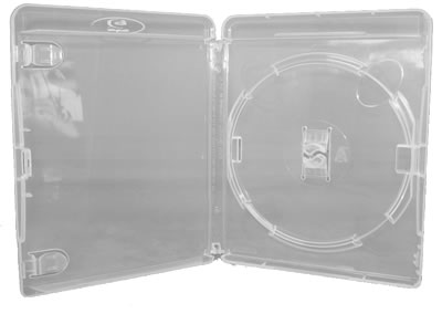 AMARAY Blu-Ray-Hülle - transparent  (Blu-Ray-Boxen)