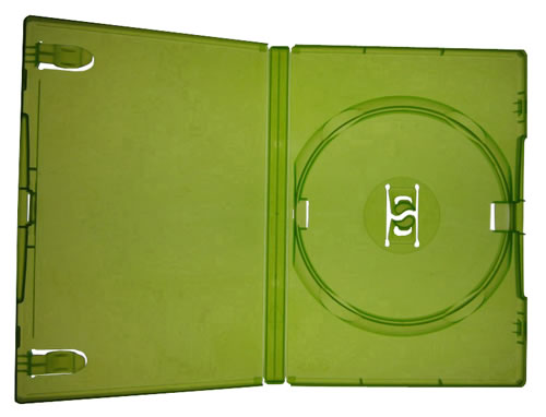 AMARAY DVD-Hüllen - grün(Xbox 360) (DVD-Huellen farbig)