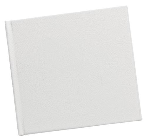 CD Art Box - weiss - buffalino bianco (CD-Huellen farbig)