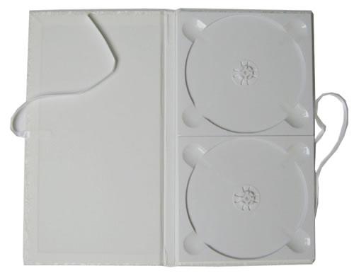 CD Art Box - weiss für 2 CDs (CD-Mehrfachboxen)