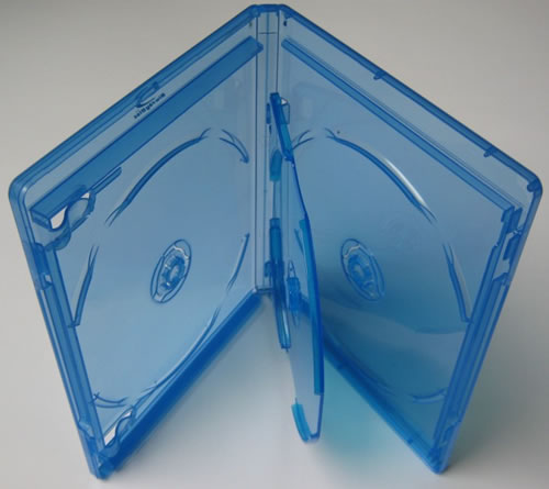 Blu-Ray-Hülle für 3 Disks - blau (Blu-Ray-Boxen)