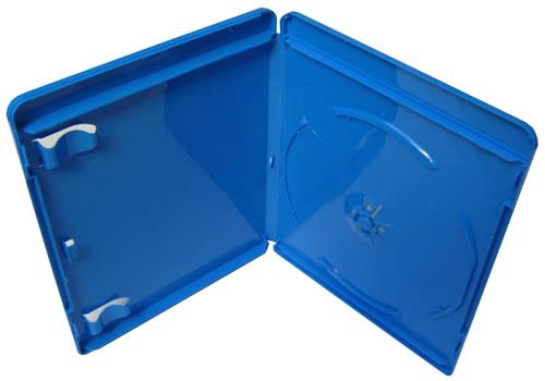 Blu-Ray-Hülle - 11mm - vollfarbig blau (Blu-Ray-Boxen)