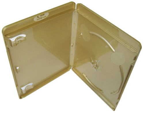 Blu-Ray-Hülle - 11mm - vollfarbig gold (Blu-Ray-Boxen)