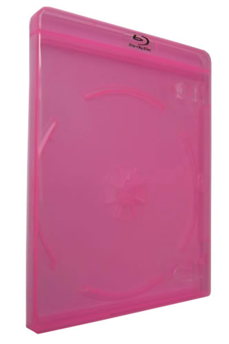 Blu-Ray-Hülle - 11mm - pink (Blu-Ray-Boxen)