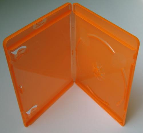 Blu-Ray-Hülle - orange transparent (Blu-Ray-Boxen)