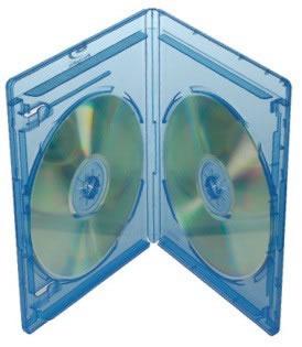 Elite Blu-Ray-Hülle für 2 Disks - 11mm - blau (Blu-Ray-Boxen)