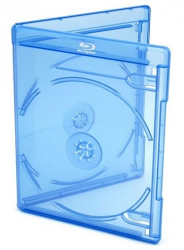 Elite Blu-Ray-Slim-Hülle für 2 Disks - blau (Blu-Ray-Boxen)