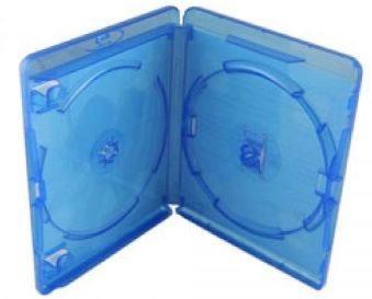 AMARAY Blu-Ray-Hülle für 2 Disks - blau  (Blu-Ray-Boxen)