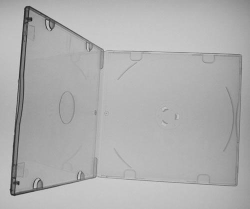 CD-Slim-Hüllen - PP-Material - transparent frosted (CD-Huellen Slim)