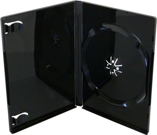 DVD-Hüllen - schwarz glänzend (DVD-Huellen)