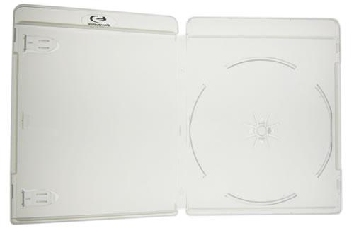 Blu-Ray-Hülle - transparent - Logo blau (Blu-Ray-Boxen)