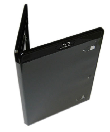 Blu-Ray-Hülle - schwarz (Blu-Ray-Boxen)