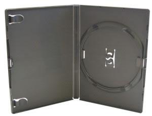 AMARAY DVD-Hüllen - schwarz - 50 Stück (DVD-Huellen)