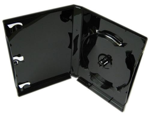 DVD-Hülle 7-fach - schwarz glänzend (DVD-Mehrfachboxen)