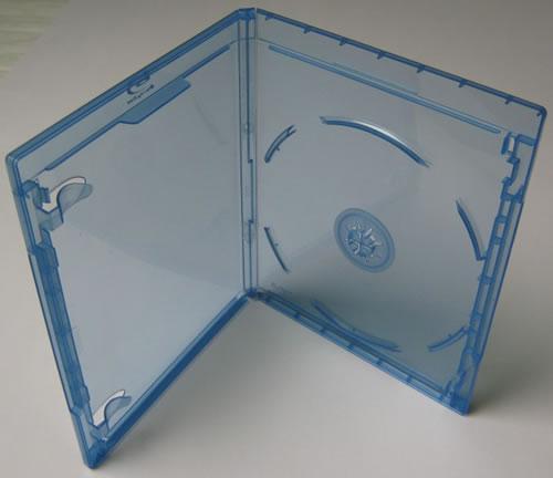 Elite Blu-Ray-Hülle für 1 Disk - 11mm - blau (Blu-Ray-Boxen)