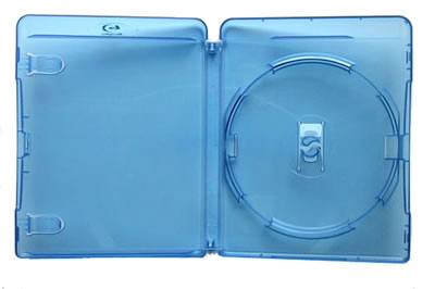 AMARAY Blu-Ray-Hülle 15 mm - blau  (Blu-Ray-Boxen)