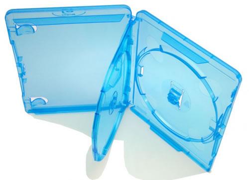 AMARAY 2-fach-Blu-Ray-Hülle - blau (Blu-Ray-Boxen)
