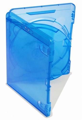 AMARAY 3-fach-Blu-Ray-Hülle - blau (Blu-Ray-Boxen)