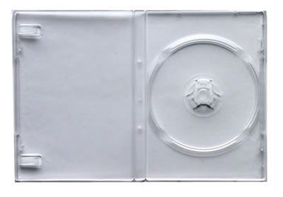 DVD-Hülle für Mini DVD - transparent (DVD-Huellen 8cm Mini)