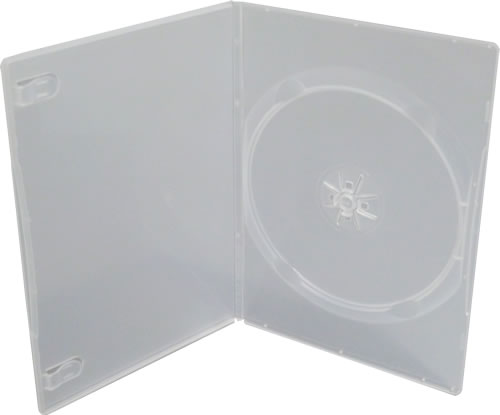 DVD-Slim-Hüllen - transparent (DVD-Huellen Slim)
