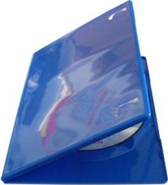 DVD-Slim-Hüllen - blau (DVD-Huellen farbig)