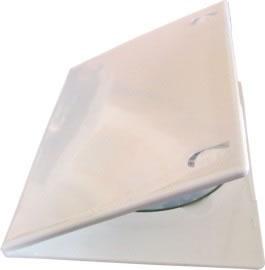 DVD-Slim-Hüllen - weiss (DVD-Huellen farbig)