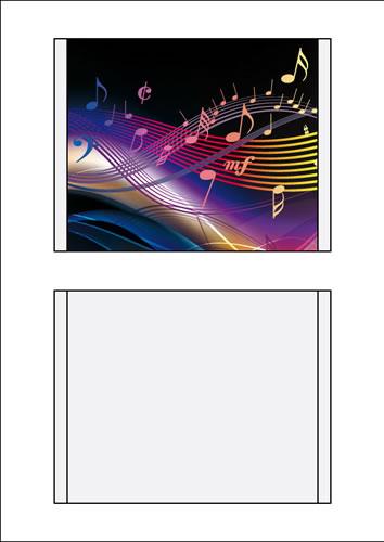 CD-Einleger Inkjet/Laser - 100 Stück (CD-Superjewelbox)