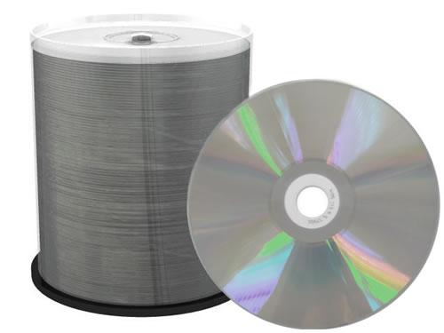 CD-Rohlinge - mit Innenring - 100 Stück (CD-Rohlinge etikettierbar)