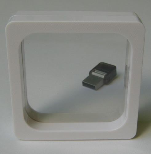3D-Schweberahmen - weiss - 7cm (CD-Luxusboxen)