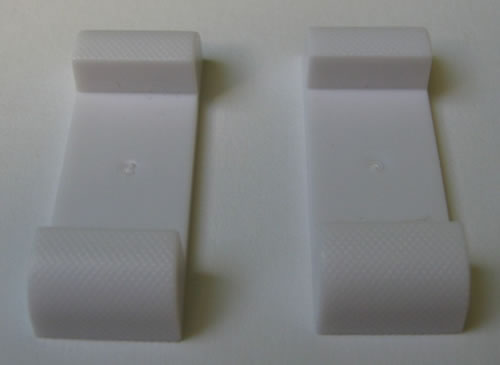 Füsse für 3D-Schweberahmen - weiss (CD-Luxusboxen)