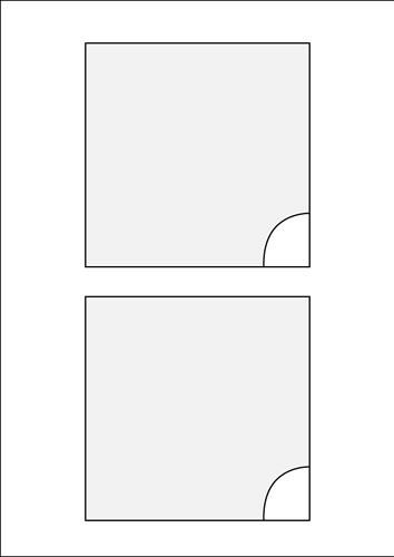 Tri-Key Box Booklet - 200 Stück (CD-Einleger)