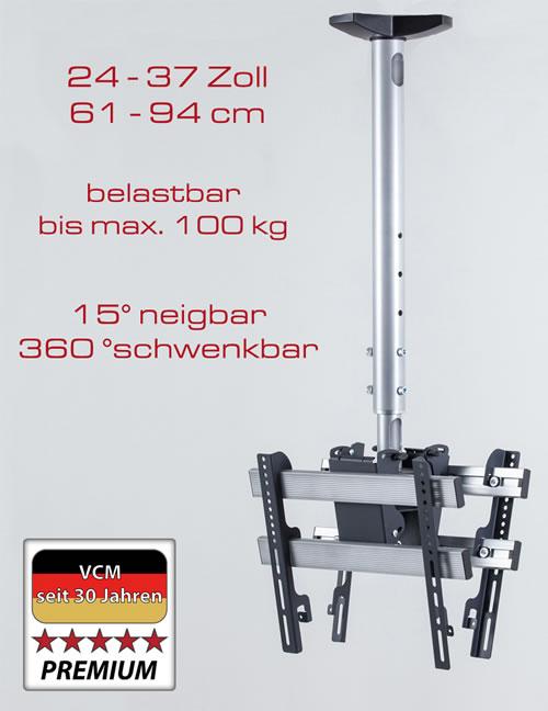 """VCM Deckenhalterung """"TDH 3 DOUBLE"""" (Halterungssysteme)"""