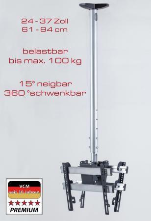 """VCM Deckenhalterung """"TDH 3 MAXI DOUBLE"""" (Halterungssysteme)"""