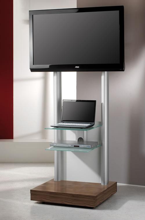 TV-Standfuß VCM Monte-Visolo 3mit 2 Zwischenböden (Hifi- und TV-Moebel)